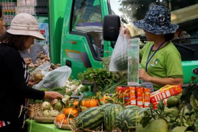 Chi tiêu cho thực phẩm sạch của người thành thị tăng cao